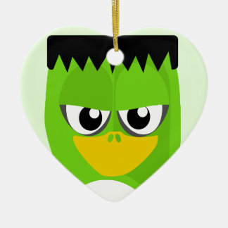 Frankenstein Penguin Ceramic Ornament