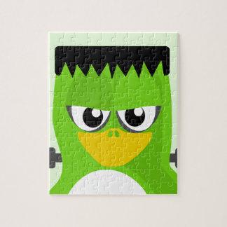 Frankenstein Penguin Jigsaw Puzzle