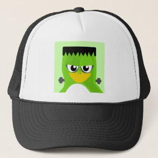 Frankenstein Penguin Trucker Hat