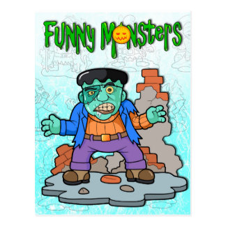 Frankenstein Postcard