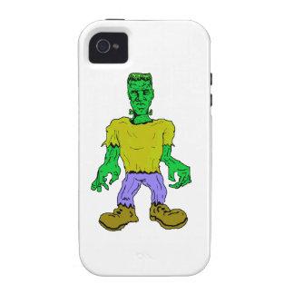 Frankenstein s Monster Vibe iPhone 4 Cases