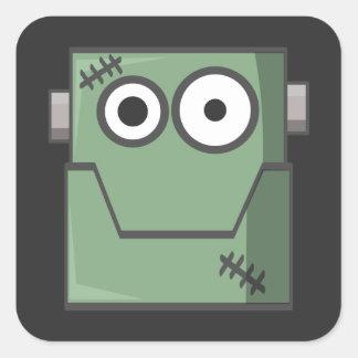 Frankenstein Treat Bag Stickers