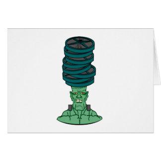 Frankenstein under weights card