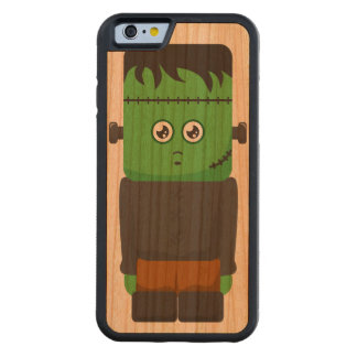Frankenstein Wood iPhone Carved Cherry iPhone 6 Bumper Case
