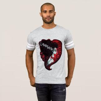 Frankenstein's Babe Football Jersey T-Shirt