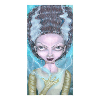 Frankenstein's Bride Card by Charmaine Flannery Photo Card