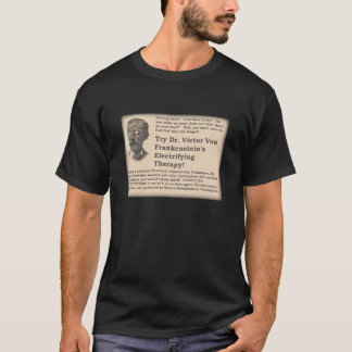 Frankenstein's Old Time Ad T-Shirt