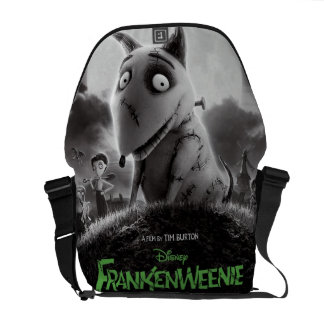 Frankenweenie Movie Poster Commuter Bag