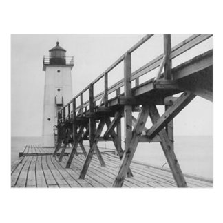Frankfort Lighthouse Postcard