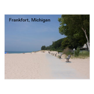 Frankfort Michigan Lakeshore Postcard