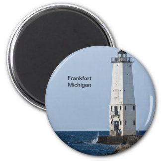 Frankfort Michigan Lighthouse Magnet