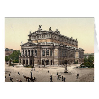 Frankfort Opera House Blank Card