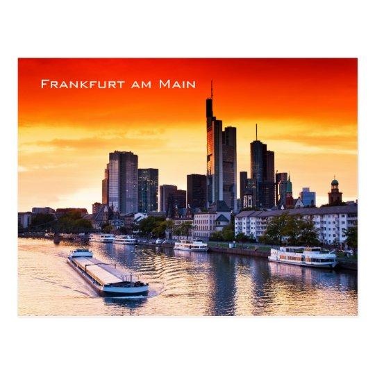 Frankfurt am Main 01 Postcard