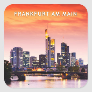 Frankfurt am Main 02C Square Sticker