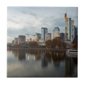 Frankfurt am Main skyline Ceramic Tiles