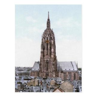 Frankfurt Cathedral Postcard