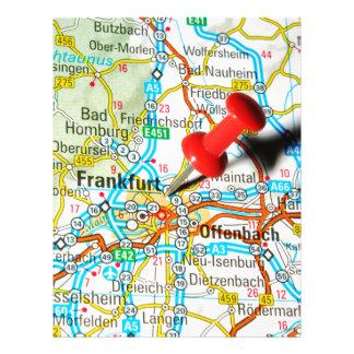 Frankfurt, Germany Letterhead