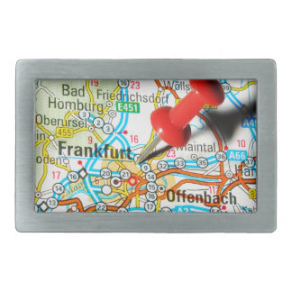Frankfurt, Germany Rectangular Belt Buckles