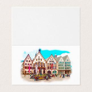 Frankfurt, Germany Romans, Market Place Card