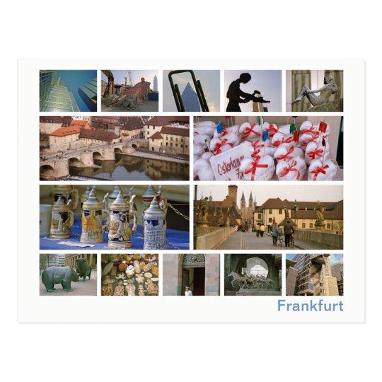 Frankfurt multi-image postcard