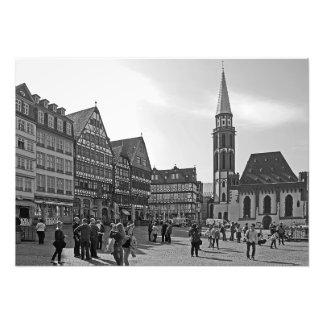 Frankfurt. Römer. Church of St. Nicholas Photo Print