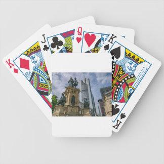 Frankfurt Skyline Bicycle Playing Cards