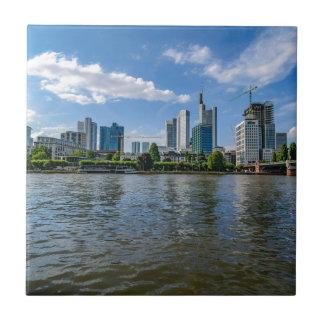 Frankfurt Skyline Ceramic Tiles