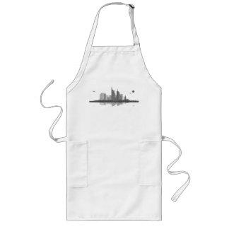 Frankfurt skyline cook apron