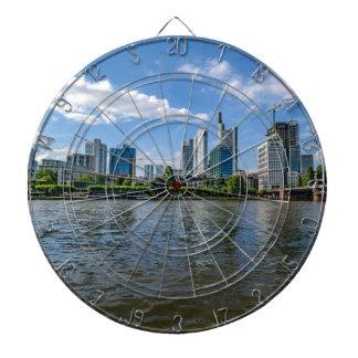 Frankfurt Skyline Dartboard