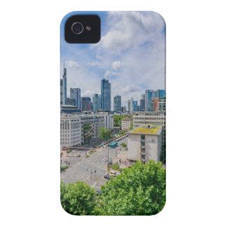 Frankfurt Skyline iPhone 4 Case-Mate Case