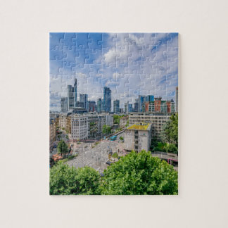 Frankfurt Skyline Jigsaw Puzzle