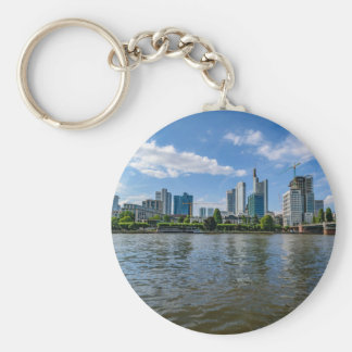 Frankfurt Skyline Keychain