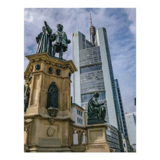 Frankfurt Skyline Letterhead