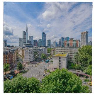 Frankfurt Skyline Napkin