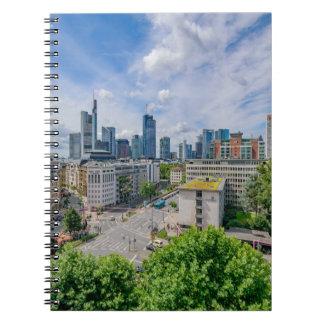 Frankfurt Skyline Notebook