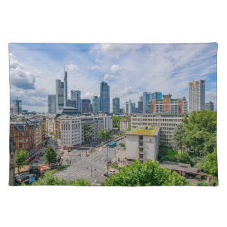 Frankfurt Skyline Placemat