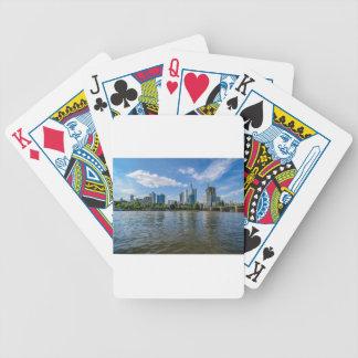 Frankfurt Skyline Poker Deck