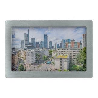 Frankfurt Skyline Rectangular Belt Buckles