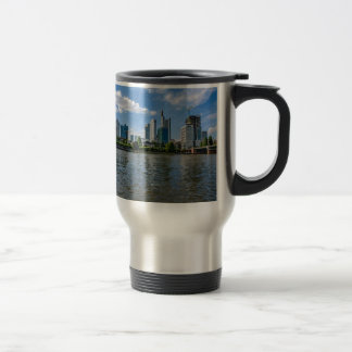 Frankfurt Skyline Travel Mug