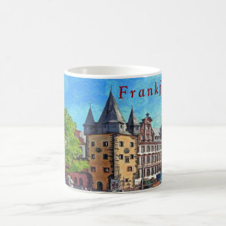 Frankfurt. The Historical Museum. Coffee Mug
