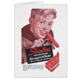 Frankfurter Boy Card