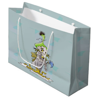FRANKIE CARTOON GIFT BAG LARGE GLOSSY