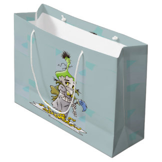 FRANKIE CARTOON GIFT BAG LARGE MATTE