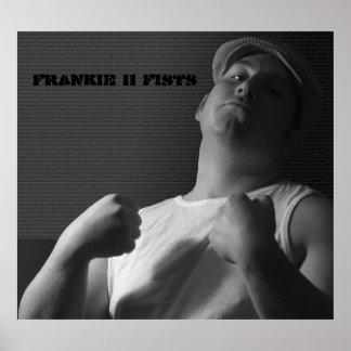 Frankie II Fists Poster