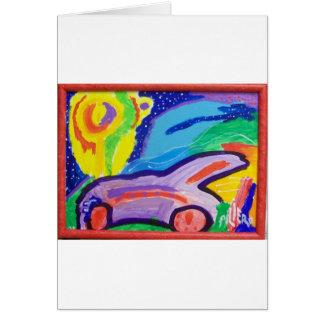 Frankie's Car Card