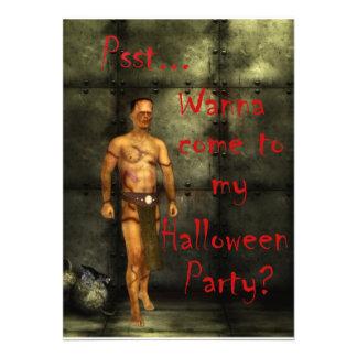 Frankie's Halloween Invitation