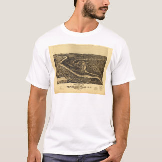 Franklin and Franklin Falls, New Hampshire (1884) T-Shirt