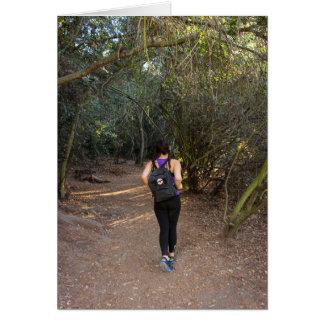 Franklin Canyon Park Hiker Card
