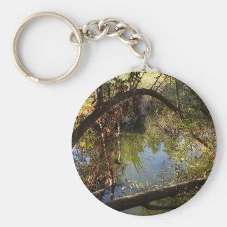 Franklin Canyon Park Lake 4 Keychain