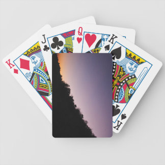 Franklin Canyon Park Twilight Bicycle Playing Cards
